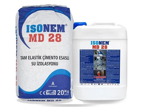 Tam Elastik Çimento Esaslı Su İzolasyonu (MD 28)