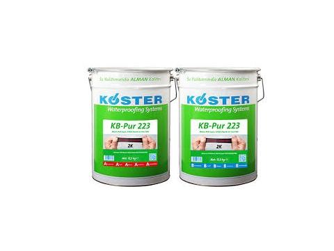 Bitüm-PUR esaslı, 2 komponentli ve %1500 elastik, likit su yalıtımı (® KB-Pur 223)