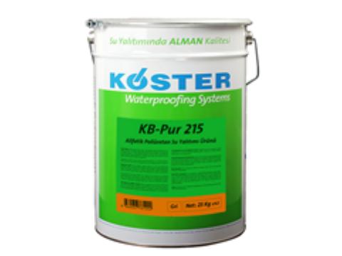 Alifatik poliüretan esaslı, son kat kaplama ve su yalıtımı ürünü (KB-Pur 215)